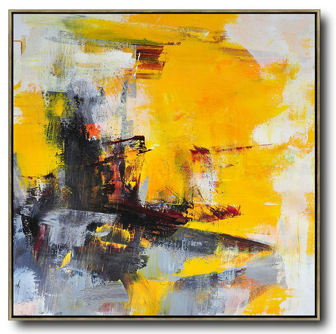 Extra Large Abstract Painting On Canvas Oversized Palette