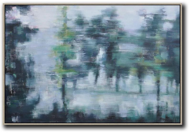 Original Artwork Extra Large Abstract Painting Horizontal