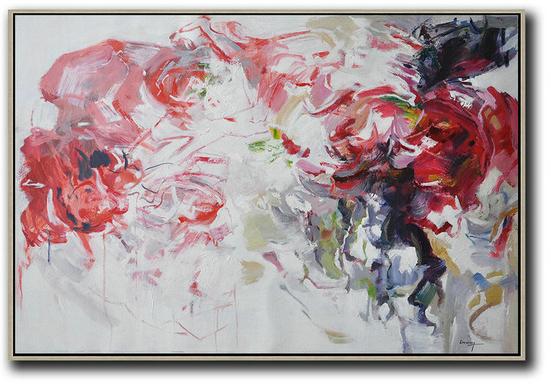 Huge Abstract Painting On Canvas,Abstract Landscape Oil Painting,Artwork For Sale